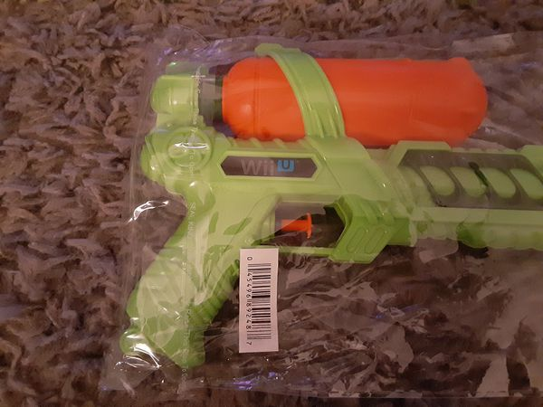 Splatoon Water Squirt Gun Promotional Item Target Exclusive Nintendo Wii U Rare
