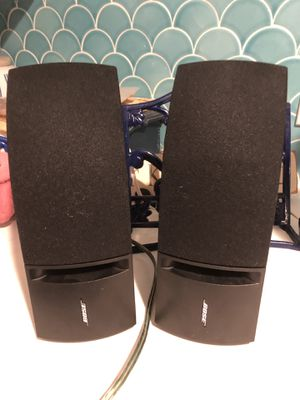 Bose model 161 wall mounted speakers.I have the wall mounts for them. for Sale in Tacoma, WA