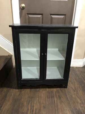 Black shelf storage cabinet 27x28x15 for Sale in Fort Lauderdale, FL