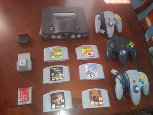 N64 with best games for Sale in Norco, CA