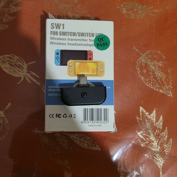 nintendo switch headphones wireless adapter