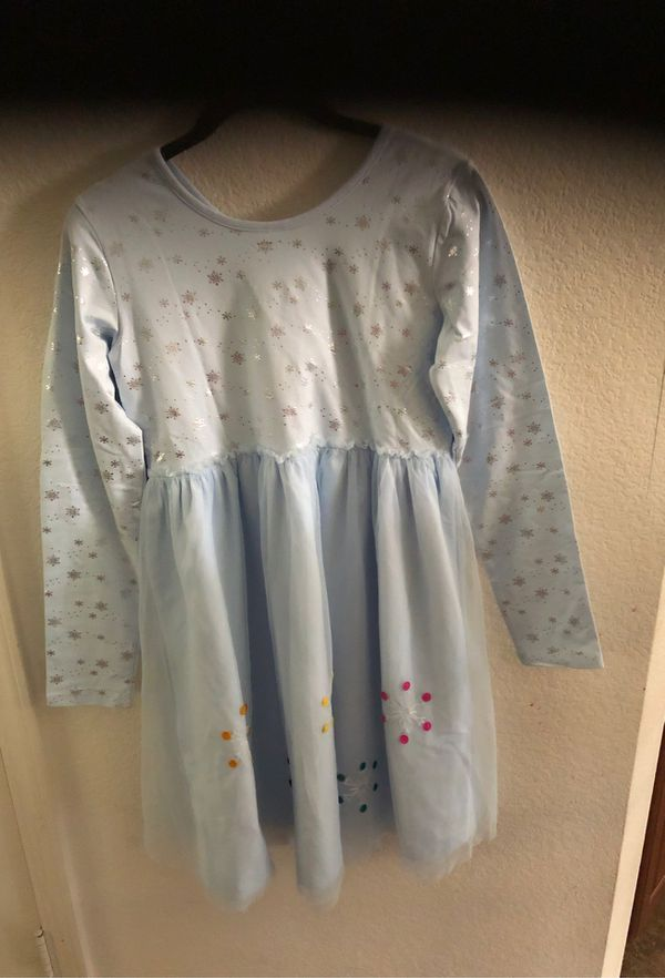 New Size 14-16 Girl Hanna Anderson Elsa Frozen 2 dress
