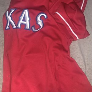 Texas rangers Jersey for Sale in Dallas, TX