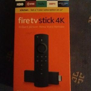 Fire TV Stick 4K. Brilliant Picture. Alexa Voice Remote for Sale in Long Beach, CA