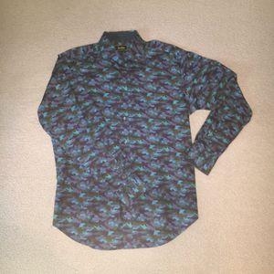 Unique Neiman Marcus Camo Dress Shirt for Sale in Austin, TX