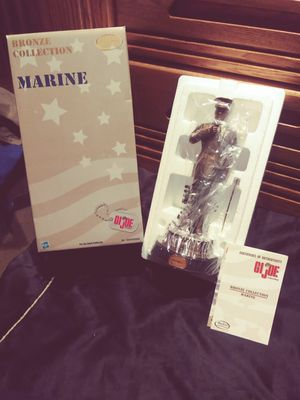GI Joe Bronze Collection Marine by Hasbro Collectors for Sale in Peoria, AZ