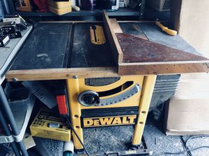 Dewalt table saw for Sale in Columbus, OH