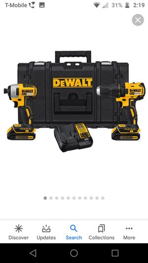 DeWalt impact/Drill set for Sale in Riverside, CA