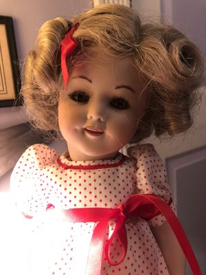 Shirley temple doll porcelain antique vintage for Sale in Seattle, WA