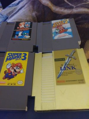 Nintendo Entertaiment System Games Only for Sale in Columbus, OH
