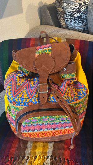 Handmade diaper bag brought from Guatemala City for Sale in Houston, TX