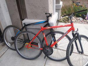 """2 26"""" road master mountain bikes for Sale in Peoria, AZ"""