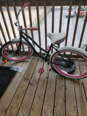 "Huffy Good Vibrations 24"" Girls Cruiser Bike, Black / Pink for Sale in Westminster, MD"
