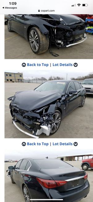 Selling parts for a 2018 Infiniti Q50 luxury for Sale in Hialeah, FL