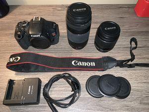 Canon Rebel T3i Package for Sale in Honolulu, HI
