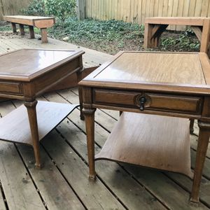 Vintage Side Tables (2) for Sale in Renton, WA