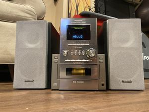 Panasonic Stereo System CD/Radio/Cassette Player for Sale in Plainview, NY