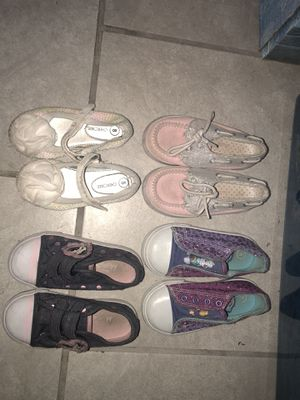 8c girl shoes FREE MUST BE PICKED UP for Sale in Detroit, MI