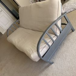 Tan/beige Futon Bed for Sale in Alpharetta,  GA