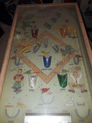 Vintage baseball pinball machine for Sale in Laguna Hills, CA