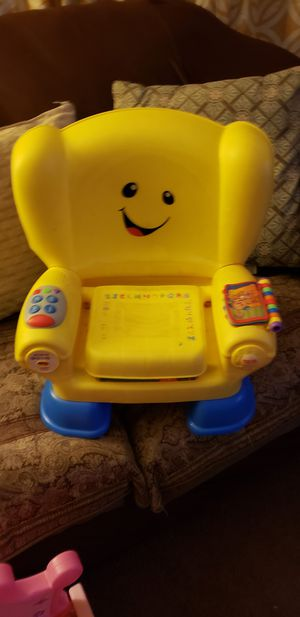 Kid chair with music and storage for Sale in Columbus, OH
