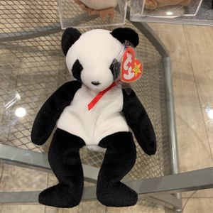 Beanie Baby Panda With 4 Errors Rare for Sale in Ladera Heights, CA