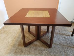 Solid wood dining table and chairs for Sale in St. Louis, MO