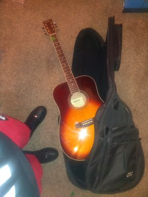 Tamera acoustic guitar with case for Sale in Fresno, CA