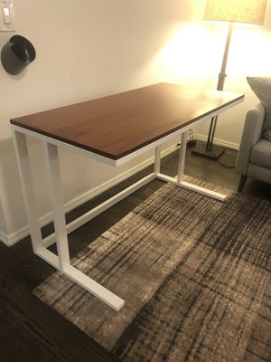 Crate & Barrel Walnut Top Desk for Sale in New York, NY