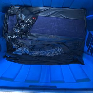Camping Gear - Air Mattress, Sleeping Bag And Electric Pump for Sale in Costa Mesa, CA