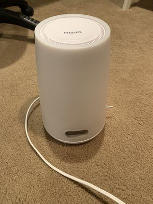 Philips wake-up light for Sale in Maple Valley, WA