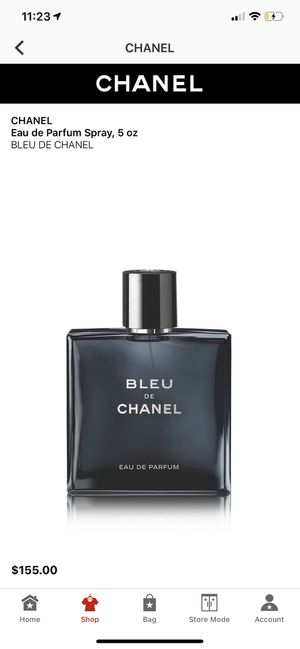 Chanel bleu perfume for Sale in Los Angeles, CA