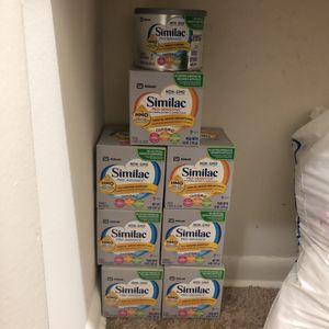 Similac pro advance& pro sensitive ! 8 Oz for Sale in Alexandria, VA