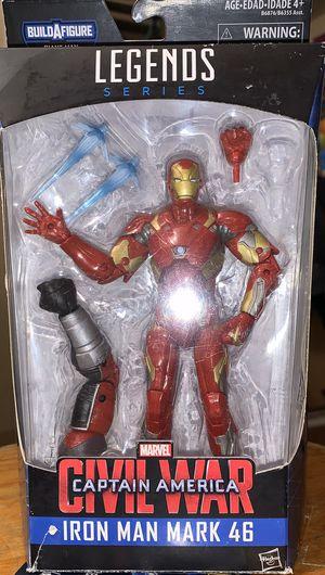 Marvel Legends Civil War Captain America: Iron Man Mark 46 (Giant Man BAF) - NEW Hasbro for Sale in San Bernardino, CA