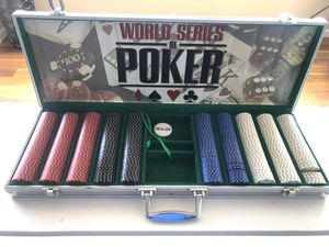 Clay World Series Poker Chip Set for Sale in Denver, CO