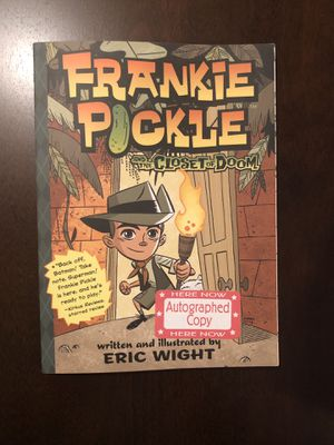 SIGNED Frankie Pickle by Eric Wight for Sale in Royersford, PA