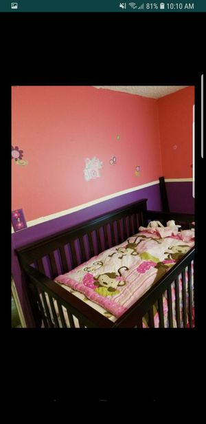 Crib and changing table for Sale in Greensboro, NC
