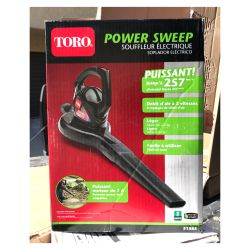 Toro Power Sweep 160 MPH 155 CFM 7 Amp Electric Leaf Blower for Sale in Arcadia,  CA