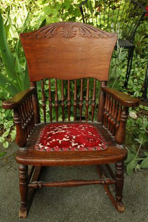 Old Pressed Back Child's Rocking Chair Antique for Sale in Seattle, WA