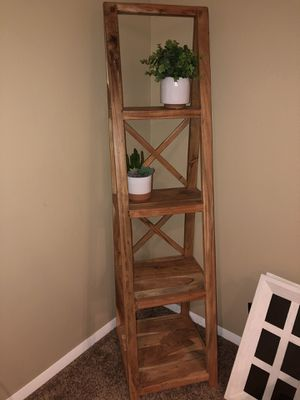 Wooden Ladder Shelf for Sale in Littleton, CO