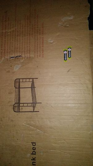twin over twin bunk brand new in box for Sale in New York, NY