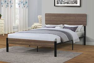 Brand new queen size platform bed frame for Sale in Walnut, CA