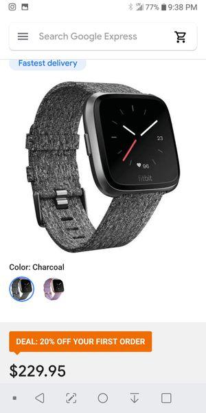 Fitbit versa special edition for Sale in Boston, MA