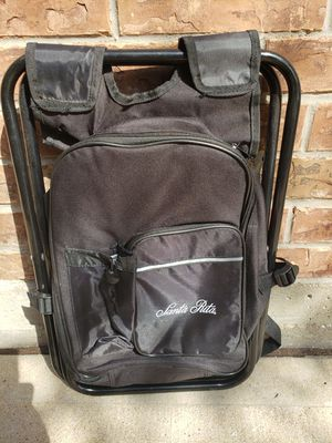 Santa Rita backpack converts into foldout seat for Sale in Cypress, TX