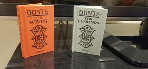 Don'ts for Wives and Husbands for Sale in Fairfield, CT