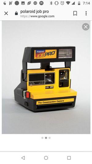 Polaroid JOB PRO CONSTRUCTION CAMERA for Sale in Columbus, OH