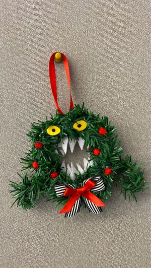 Nightmare before Christmas wreath ornament for Sale in Baldwin Park, CA
