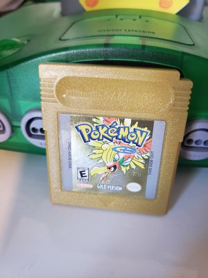 Pokemon Gold Gameboy color for Sale in Hayward, CA