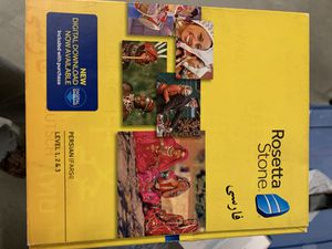 RosettaStone Farsi all levels for Sale in Menifee, CA