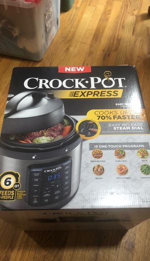 New Crock Pot express pressure cooker for Sale in Whittier, CA